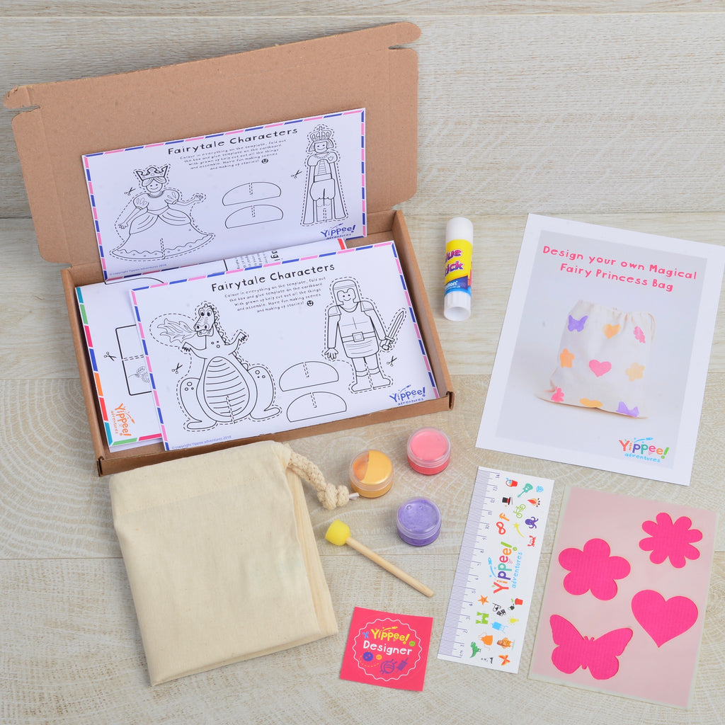 Design your own Magical Fairy Princess Bag