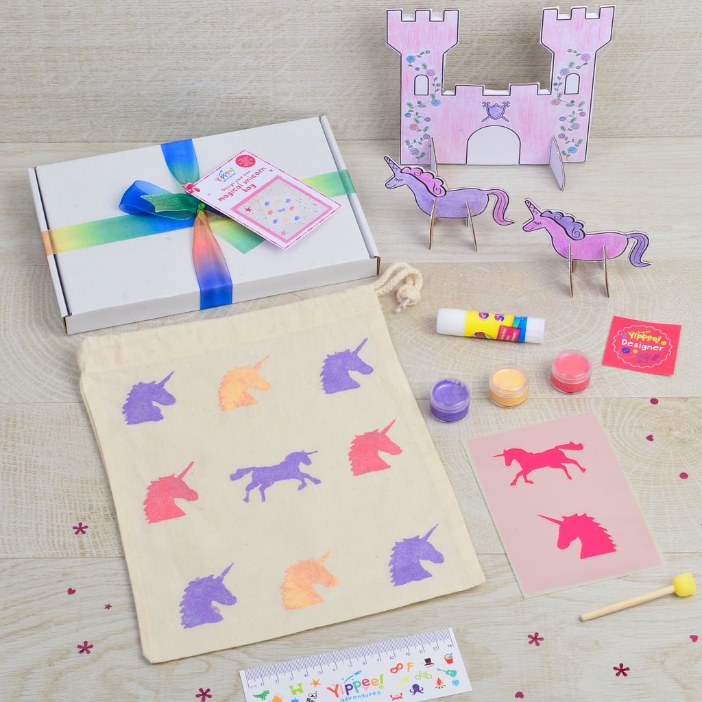 Design your own Magical Unicorn bag
