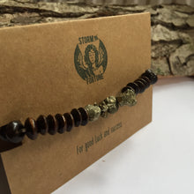 Load image into Gallery viewer, 'Thor' Pyrite Bracelet - For Good Luck And Success