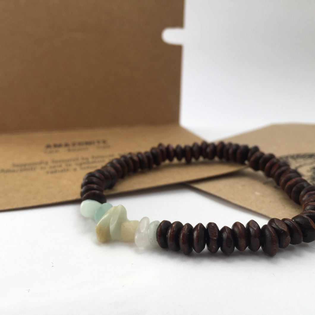 'Thor' Amazonite Bracelet - For Balance And Peace - Bracelet
