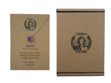 Load image into Gallery viewer, 'Artemis' Raw Amethyst Gemstone Necklace - Necklace
