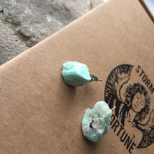 Load image into Gallery viewer, Spotted Amazonite Earrings - Earrings