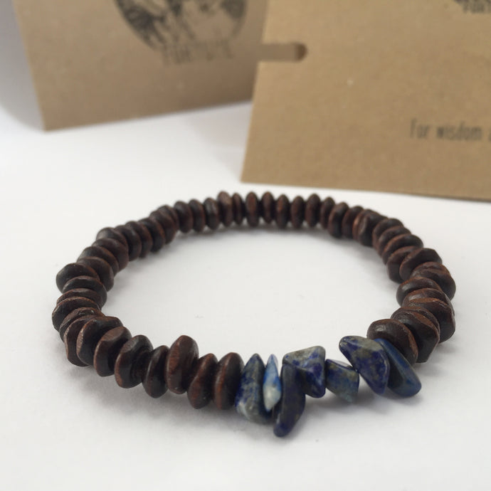 'Thor' Lapis Lazuli Bracelet - For Wisdom And Truth - Bracelet