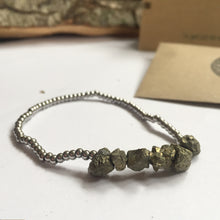 Load image into Gallery viewer, 'Freyja' Pyrite Bracelet - For Good Luck And Success