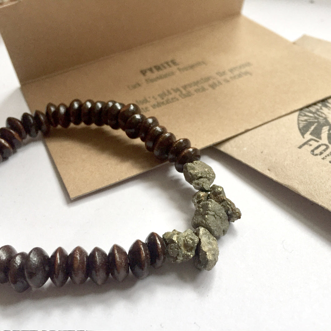 'Thor' Pyrite Bracelet - For Good Luck And Success