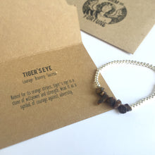 Load image into Gallery viewer, 'Freyja' Tiger's Eye Bracelet - You Are Strong And Courageous - Bracelet