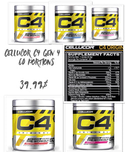 Cellucor C4 Gen 4 - 60 portions