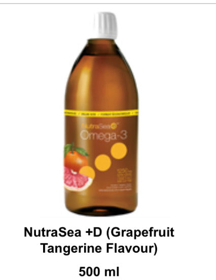 NutraSea -- Original (Lemon Flavour 100 Servings)