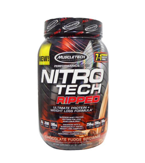 MuscleTech Nitro Tech Ripped - 2lb