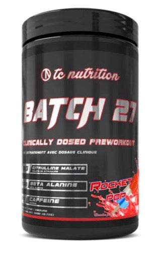BATCH 27 PRE WORKOUT