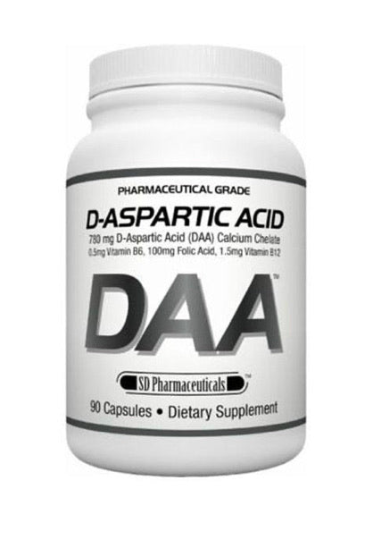 DAA D-Asparctic Acid (120 Caps)