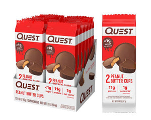 Quest Nutrition Peanut Butter Cups, 12/Box
