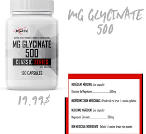 XPN MG Glycinate 120un
