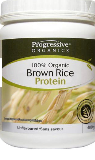 Progressive Organics - Organic Brown Rice Protein Natural Vanila )400G)