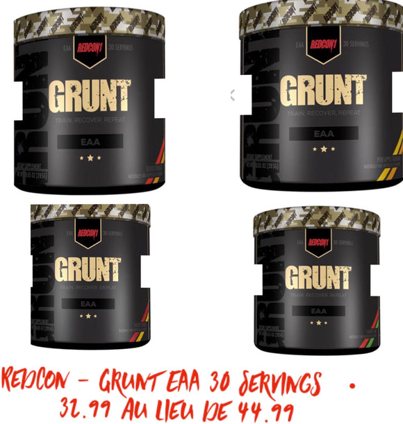 Redcon - Grunt EAA 30 Servings