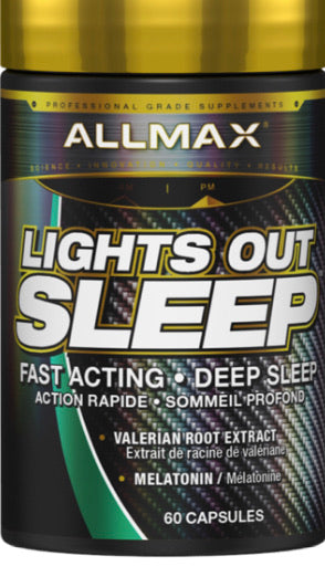 Allmax Lights Out Sommeil (60 caps)