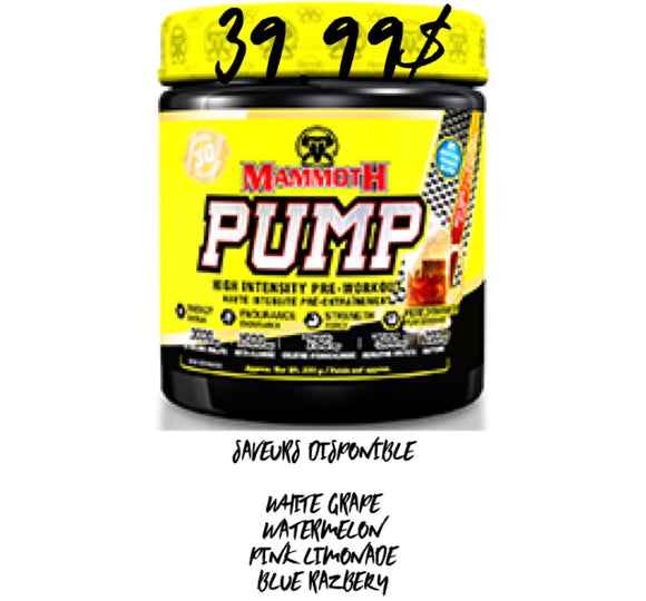 Mammoth Pump - (30 Servings)