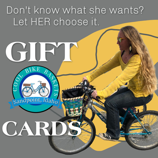 Don't know what she wants?  Grab a GIFT CARD