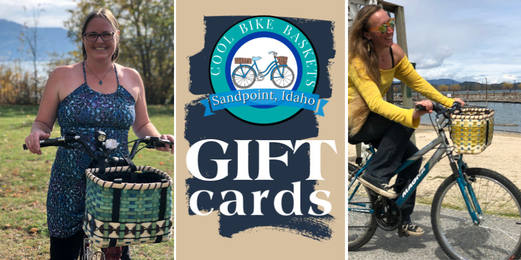 Cool Bike Basket - GIFT CARDS - Bike Baskets | Cool Bike Baskets