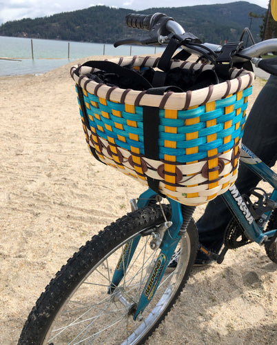 Blue Skies Bike Baskets - Bike Baskets | Cool Bike Baskets