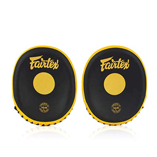 Fairtex FMV15 Cuved Muay Thai Boxing Focus Punch Mitts (Pair) - Fairtex Store