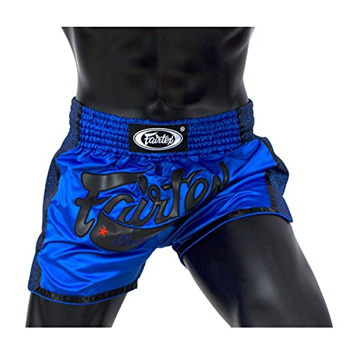 Fairtex Blue Slim Cut Muay Thai Boxing Short - Fairtex Store