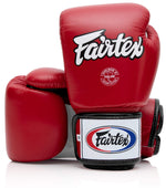 Fairtex BGV1 Red/White/Black Muay Thai Boxing Glove