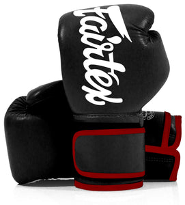 Fairtex BGV14 Black Muay Thai Boxing Glove - Fairtex Store