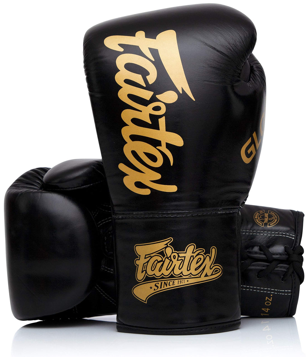 Fairtex BGLG1 Black Kick Boxing Glove - Fairtex Store