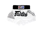 Fairtex Superstitious White Muay Thai Boxing Short - Fairtex Store