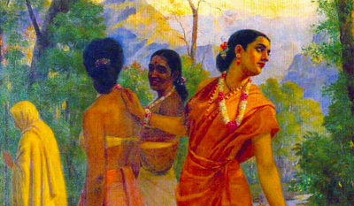 Painting of the Month: 'Shakuntala'