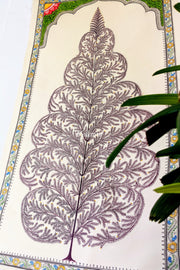 Full view of Tree of life Saura Painting