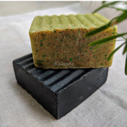 Aloe vera and Activated Charcoal Soap