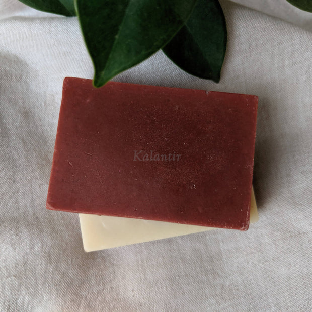 French Red Clay and Bentonite Clay Soap