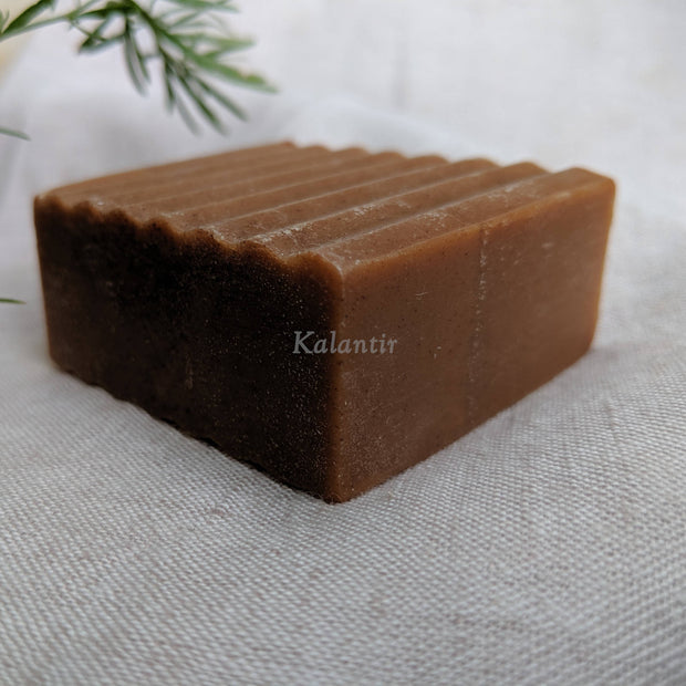 Side view of Green Tea Soap