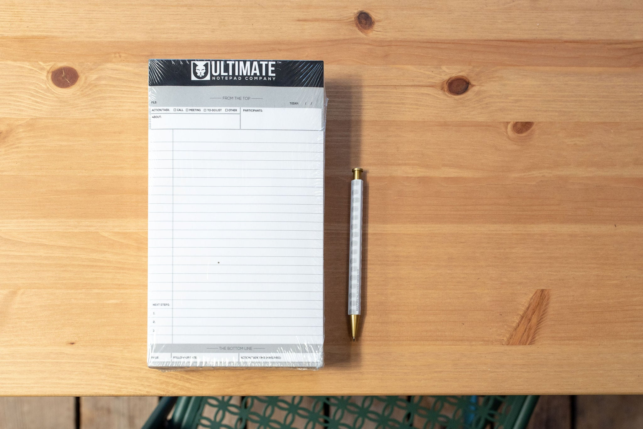 Junior Ultimate Legal Pad™ (White 5-Pack)