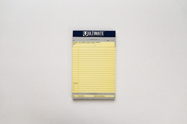 Junior Ultimate Legal Pad™ (Canary Yellow 5-Pack)