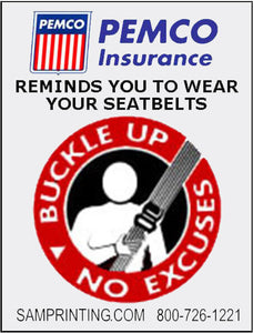 vehicle buckle your seal belt reminder window sticker