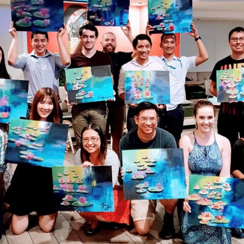 Life With Paint | Painting Classes