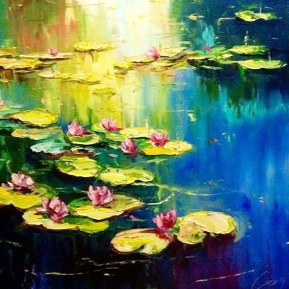 Monet's Water Lilies - Off Broadway Hotel (Dec 03 7pm)