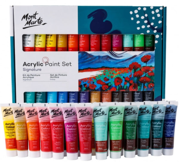 Signature Acrylic Paint Set 24pce x 36ml