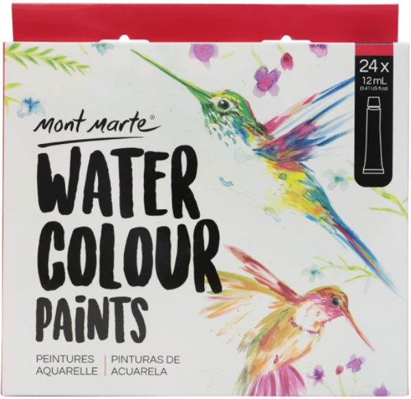Signature Watercolour Paints 24pce x 12ml