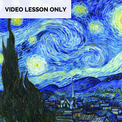 Van Gogh Starry Night [Video Only]