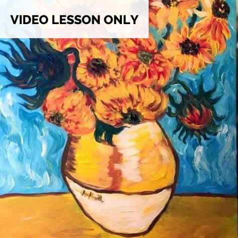 Sunflowers - Van Gogh [Video Only]
