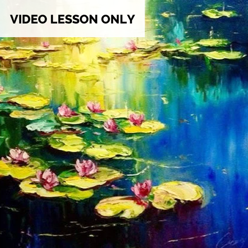 Monet Water lilies [Video Only]