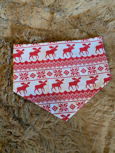 Christmas Moose Bandana's