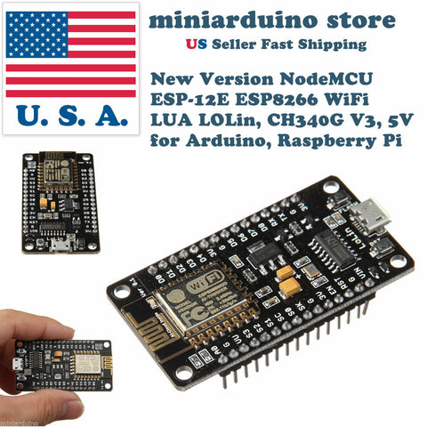 NodeMcu LUA ESP8266 ESP-12E CH340G WiFi Development Board V3 DIY Expansion Base - arduino - Business & Industrial:Electrical Equipment & Supplies:Electronic Components & Semiconductors:Other Electronic Components