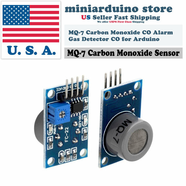 MQ-7 Carbon Monoxide CO Gas Alarm Sensor Detection Module For Arduino New - arduino - Business & Industrial:Electrical Equipment & Supplies:Sensors:Other Sensors
