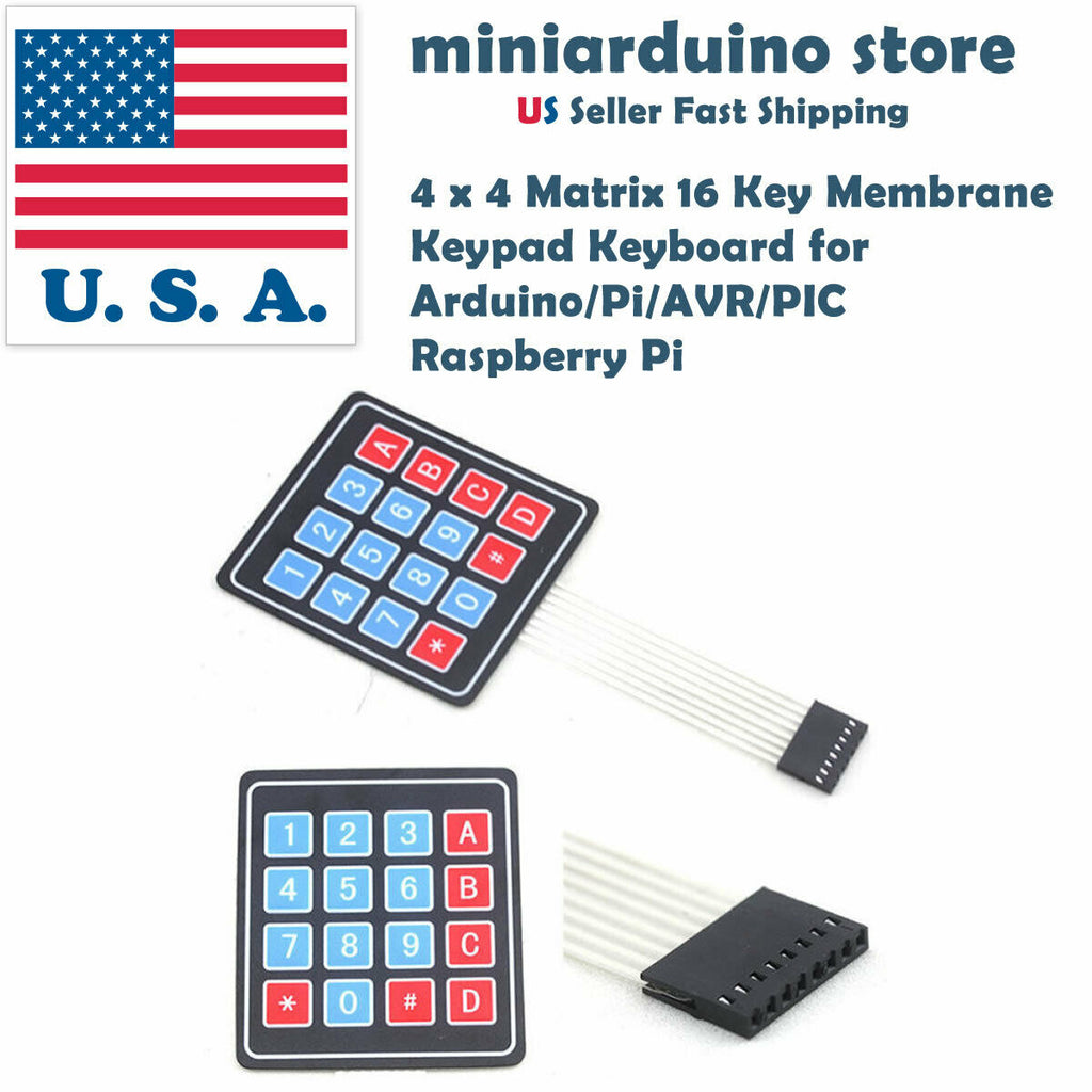 1pcs 4x4 16 Key Keypad Membrane Switch Matrix Array for Arduino Raspberry Pi USA - arduino - Business & Industrial:Electrical Equipment & Supplies:Electronic Components & Semiconductors:Other Electronic Components