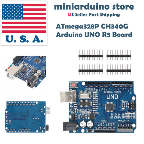 Arduino UNO R3 CH340G compatible ATMEGA328P New version with bootloader - arduino - Consumer Electronics:Other Consumer Electronics